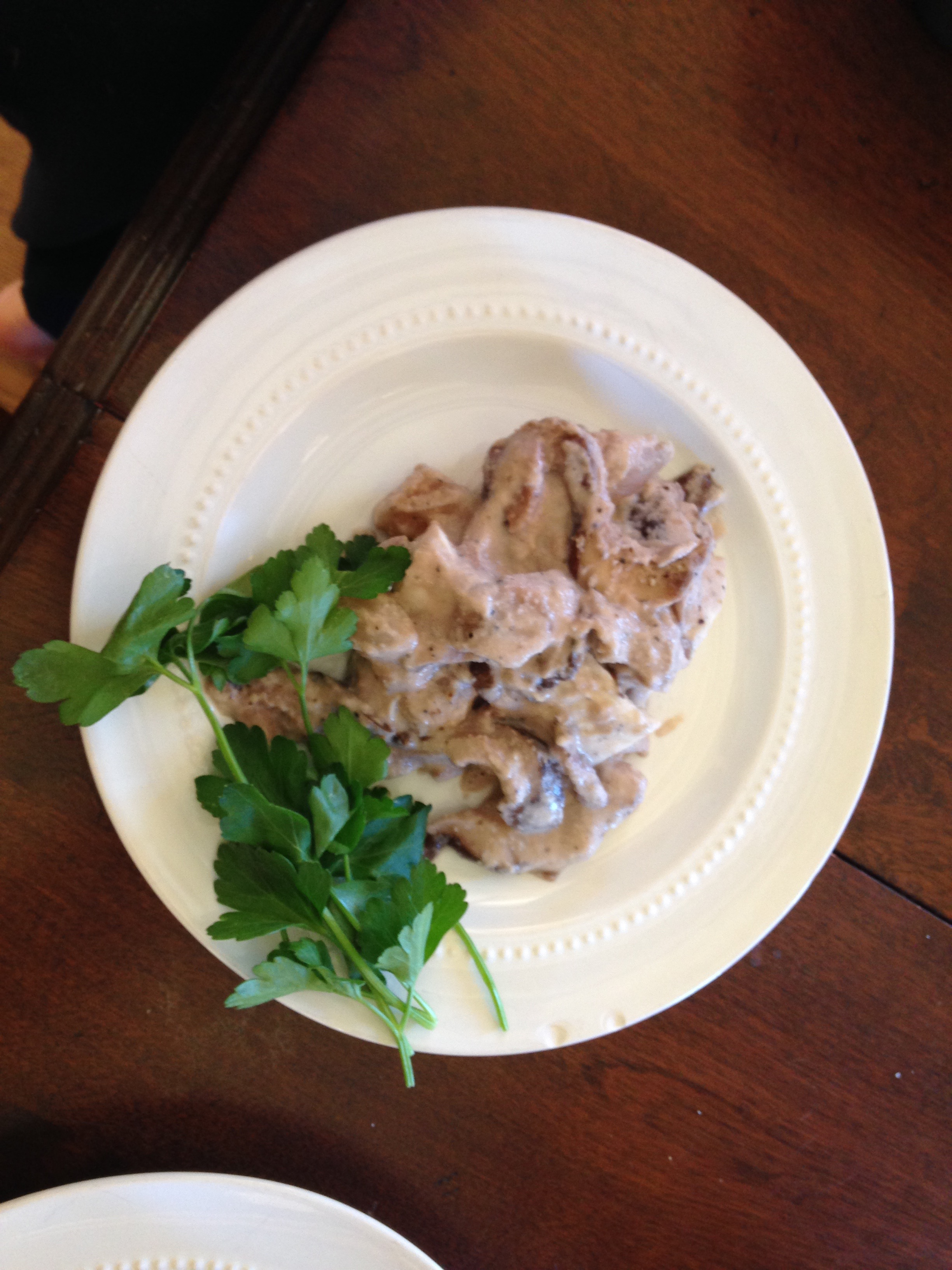 haddock with mushrooms and vermouth copy